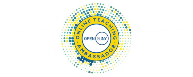 Open SUNY Online Teaching Ambassador badge
